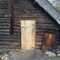 Tür Blockhaus 02