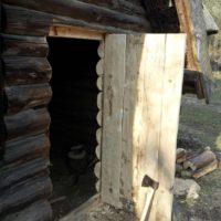 Tür Blockhaus 01